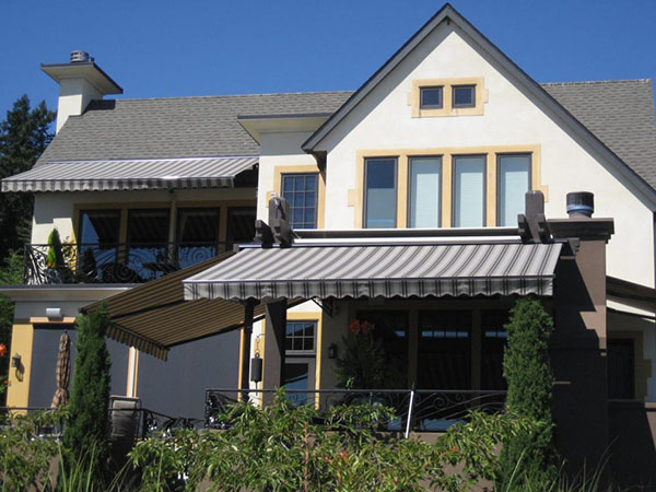 Custom Awning by Sunrise Shading