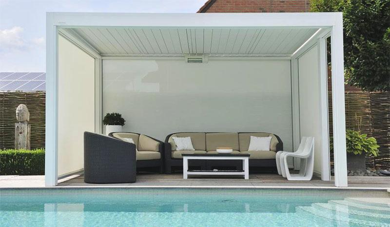 outdoor living sunrise shading. Black Bedroom Furniture Sets. Home Design Ideas